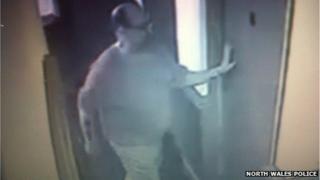 Man in CCTV