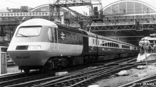 InterCity 125 in 1978