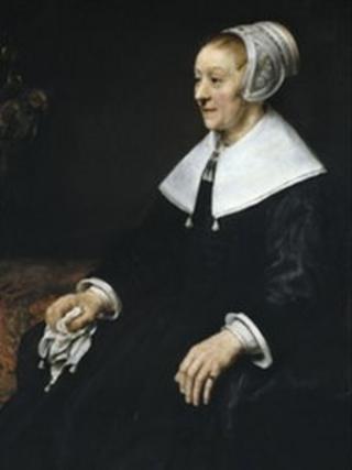 Portread o Catrina Hooghsaet