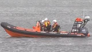 Irish Coast Guard vessel