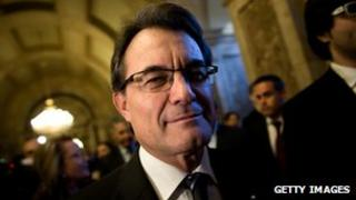 President of Catalonia, Artur Mas - file pic