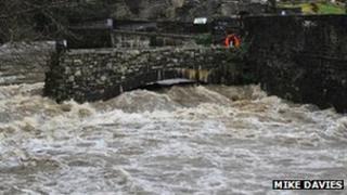 Aberdulais falls near Neath