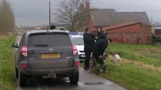 Police question hare coursing suspects in Lincolnshire