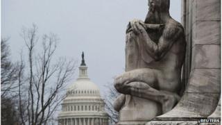 The US Capitol dome, Washington DC
