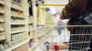 Woman in a supermarket (generic image)