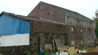 Derelict warehouse in Helensburgh