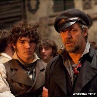 Fra Fee and Russell Crowe