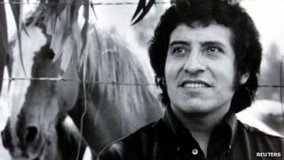 Victor Jara in undated file photo
