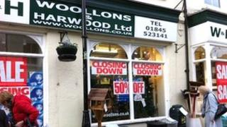 Woollons and Harwood shop in Thirsk