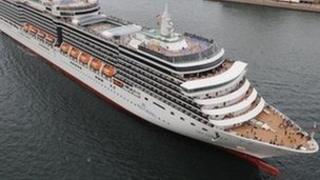 P&O Cruise ship Arcadia