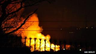 Greater Bangley barn fire