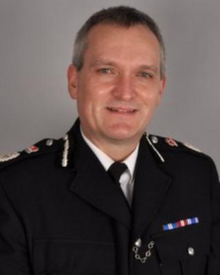 Chief constable, Gary Roberts