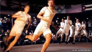 Jack Lowden and James McArdle in Chariots of Fire