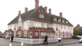The Railway Hotel pub