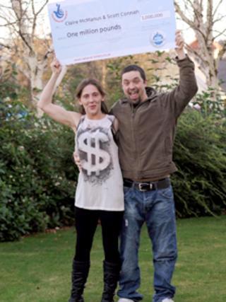 Claire McManus and Scott Connah