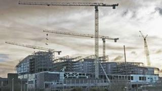 Tower crane in Gateshead