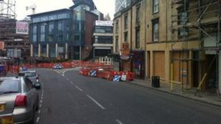 Dangerous junction on Triangle South in Bristol