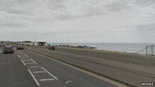 Shoeburyness seafront