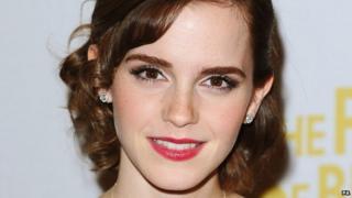 Emma Watson who plays Hermione