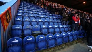 96 empty seats in tribute to Hillsborough victims at Mansfield Town
