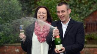 Sue and James Schofield