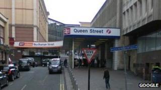 Queen Street station, Glasgow