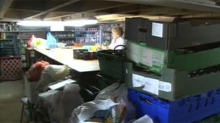 Stoke-on-Trent food bank