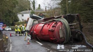 Stockbridge tanker crash