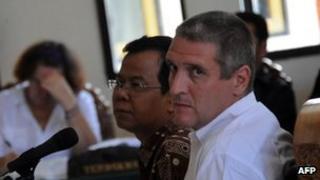 Julian Ponder in court in November