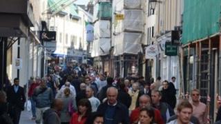 King Street in St Helier
