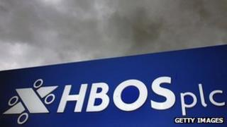 HBOS sign