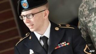 Bradley Manning. Photo: March 2012