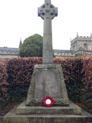 Twerton war memorial