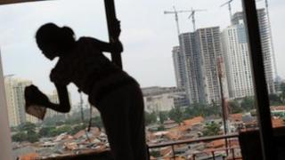 Domestic worker in Jakarta