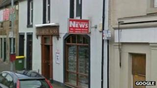 Alloa and Hillfoots Wee County News offices