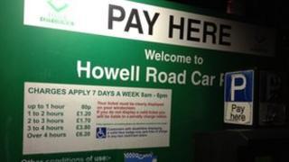 Exeter car park