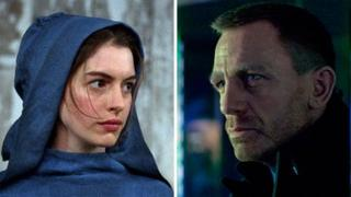 Anne Hathaway in Les Miserables and Daniel Craig in Skyfall
