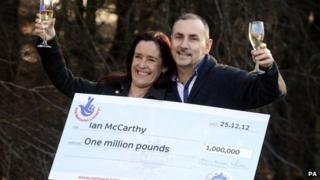 Ian and Kim McCarthy