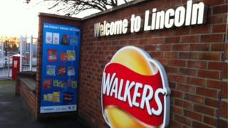 Walkers factory in Lincoln