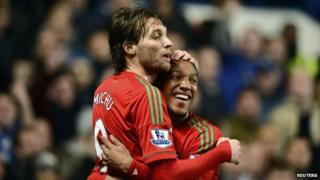 Swansea beat Chelsea