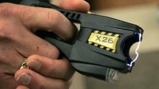 A Taser X26 stun gun