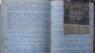Ipswich Town Football Club handwritten minutes