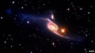 VLT/Galex image of NGC 6872