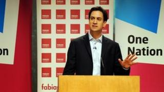 Ed Miliband at the Fabian Society