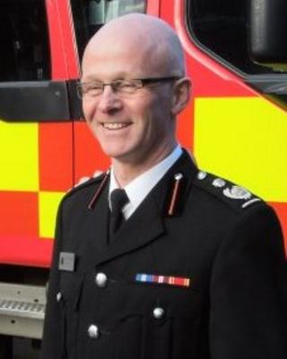 Kevin Groom Isle of Man's new fire chief