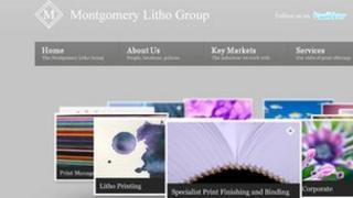 Montgomery Litho website