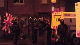 Trouble in Short Strand/Lower Newtownards Road area