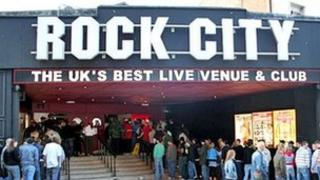 Rock City in Nottingham