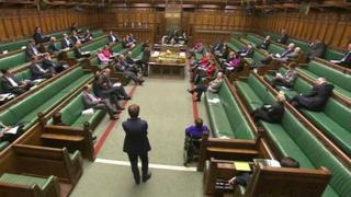 MPs at Westminster are to transfer powers to hold a referendum to Holyrood