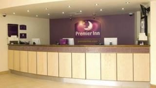 Premier Inn reception